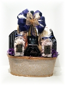 Golden Memories Gift Basket