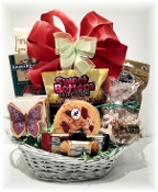 Sweet Butterfly Gift Basket