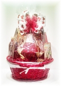 """Seeing Red"" Gift Basket"