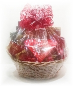 """Red, White, and You"" Gift Basket"