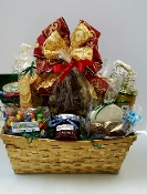 "The ""Golden Southern Christmas"" Gift Basket"